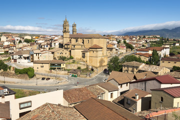 Town of Elciego, Rioja Alavesa (Spain)
