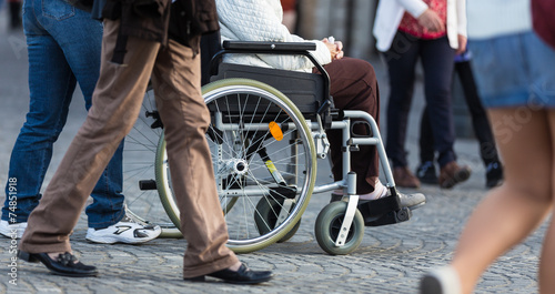 canvas print picture Disability.