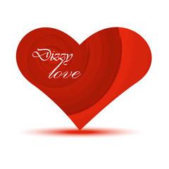 Heart Valentine's Day.