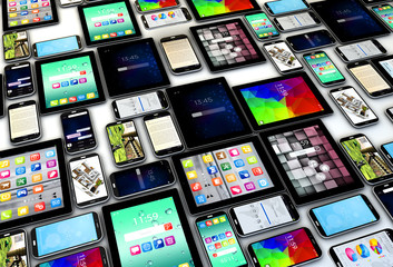 devices background