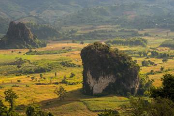 Pha Chang Noi cliff at Phu Langa