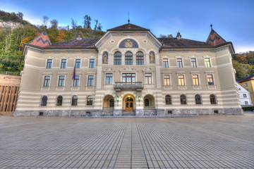 Parliament of Liechtenstein in Vaduz