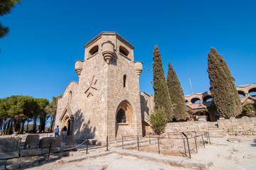 Остров Родос крепость Филеримос старинные руины