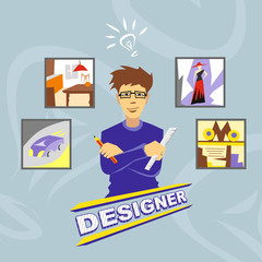 Designer. Profession. Icons.