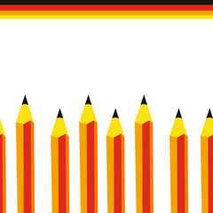 Pencils seamless background.