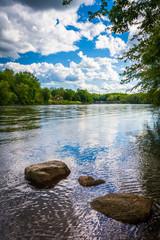 The Delaware River, north of Easton, Pennsylvania.