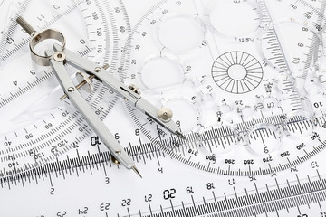 compass and rulers