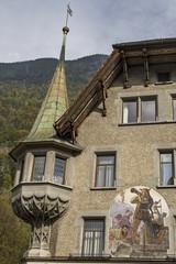 Wilhelm Tell - Hausdetail
