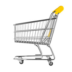 perfect isolated shop cart