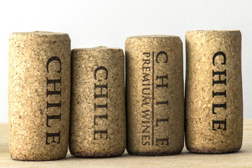 Wine bottle corks of Chile 07