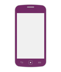 Pink mobile phone