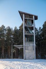 Учебная башня спортсменов пожарно-прикладного спорта