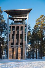 Учебная башня пожарно-прикладного спорта