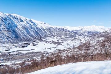 View on Solheisen Skisenter