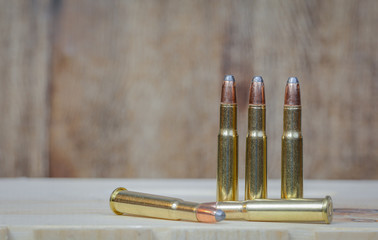Brass Rifle Ammunition
