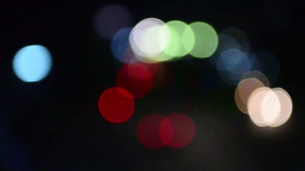 Abstract blurred colorful circles , suitable as a background