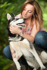 Love her dog