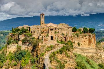 Civita di Bagnoregio Tuscany Italy Landscape