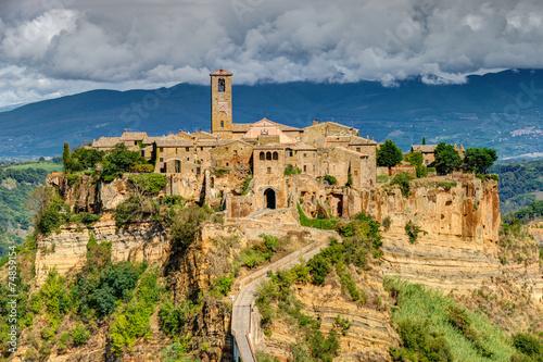 Fototapety, obrazy : Civita di Bagnoregio Tuscany Italy Landscape