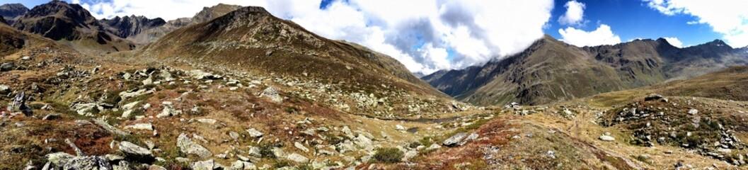 Landscape in the Austrian Alps