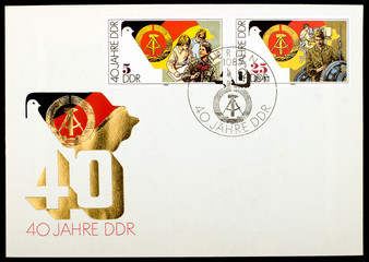 German mailing envelope