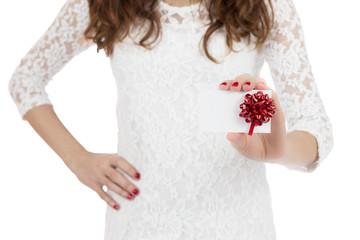 Gift card woman