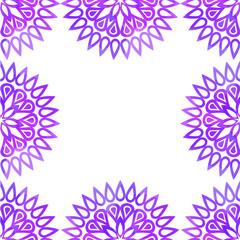 frame round pattern