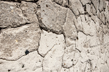 Texture of old plaster