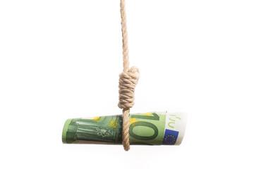 euro bill hangman