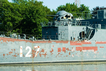 Big landing ship Minsk prepares for repair