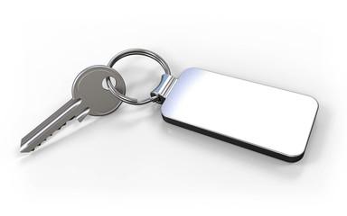 Schlüssel mit Anhänger Metall