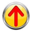 Button Pfeil gelb rot  #1417-07