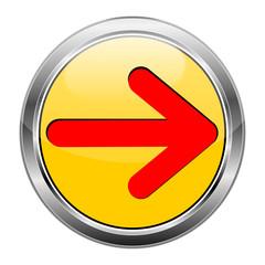 Button Pfeil gelb rot  #1417-05