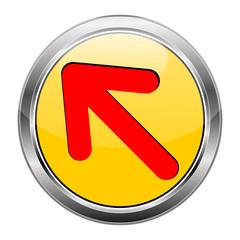 Button Pfeil gelb rot  #1417-08
