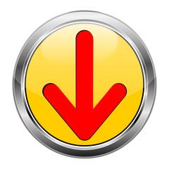Button Pfeil gelb rot  #1417-09