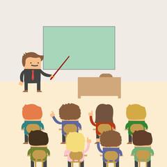 In der Klasse