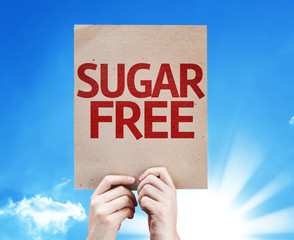 Sugar Free card with beautiful day