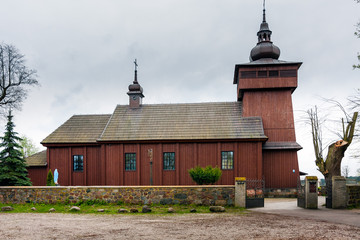 Kurdwanow Village Church in Poland