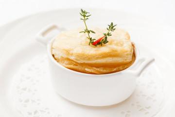 winter pot pie