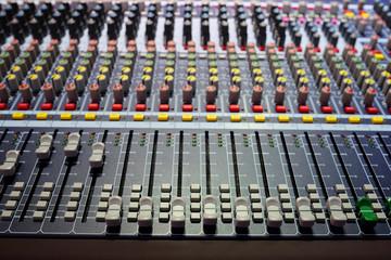 audio control desk