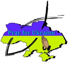 Hands, fish, Ukraine- Pray for Ukraine
