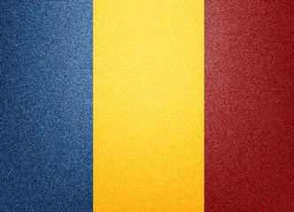 Denim Romania flag