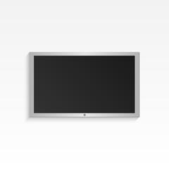 Hanging Television Illustration