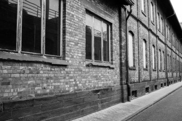 Alte Fabrikfassade