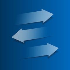 Arrow elements conception