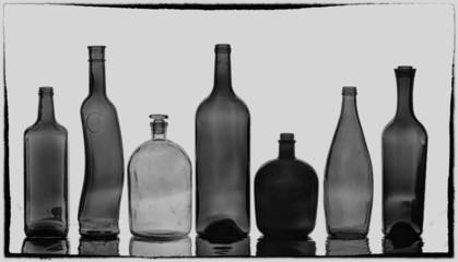 bottles texture