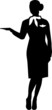 Stewardess Silhouette Person - 74869711