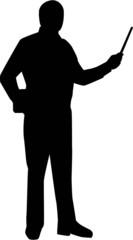 Teacher Silhouette