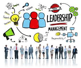 Diversity Business Management Team Concept