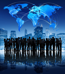 Global Communication Business People Corporate Concept